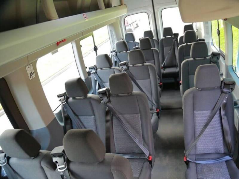 Ford Transit 17 Seat Minibus Hire Bristol Tollgate Hire