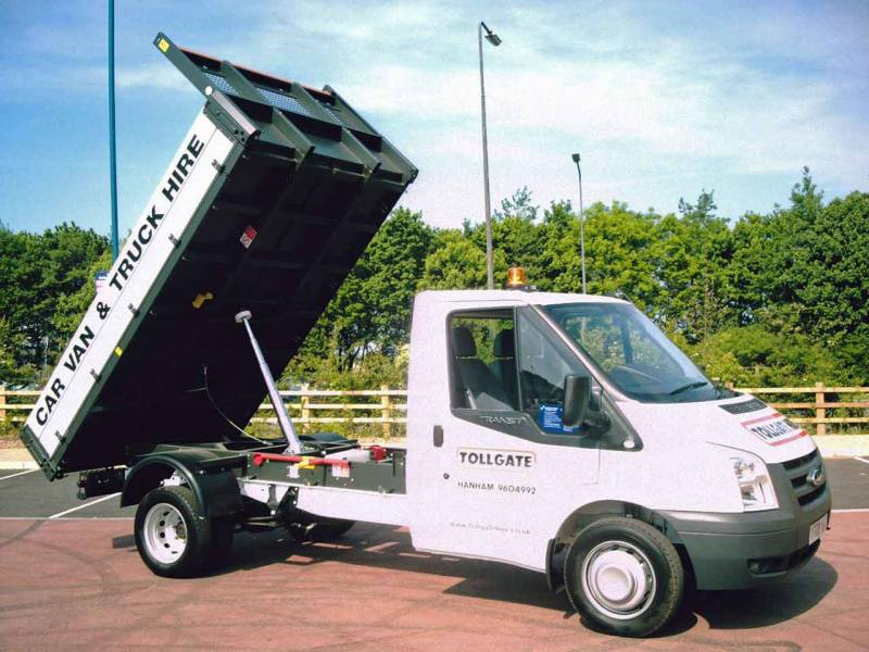 Ford Transit Tipper One Way