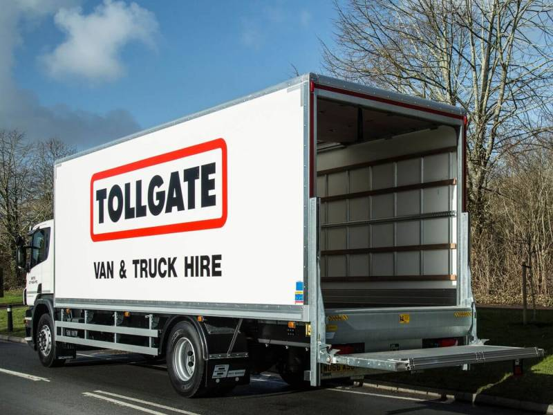 Scania 18ton Box Tail-Lift Car Hire Deals